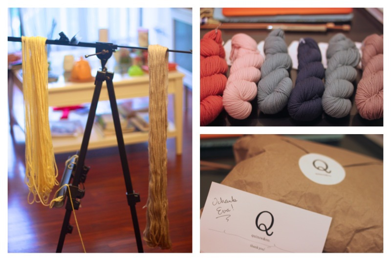 quince and co yarns