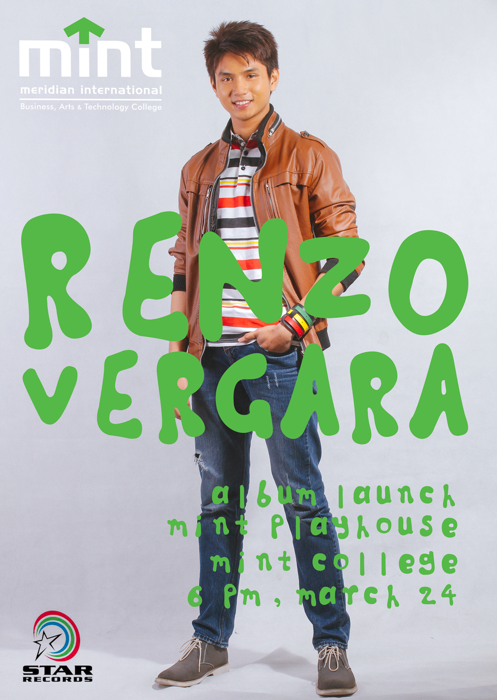 MINT MBM freshman student and Star Records recording artist Renzo Vergara is launching his 1st self-titled album today here at MINT College. We are honored and proud to have you here at MINT College. See you all tonight, here at MINT College, 6pm.   #minstchool     #mintcollege     #renzovergara  #mintmbm     #mbm     #starrecords