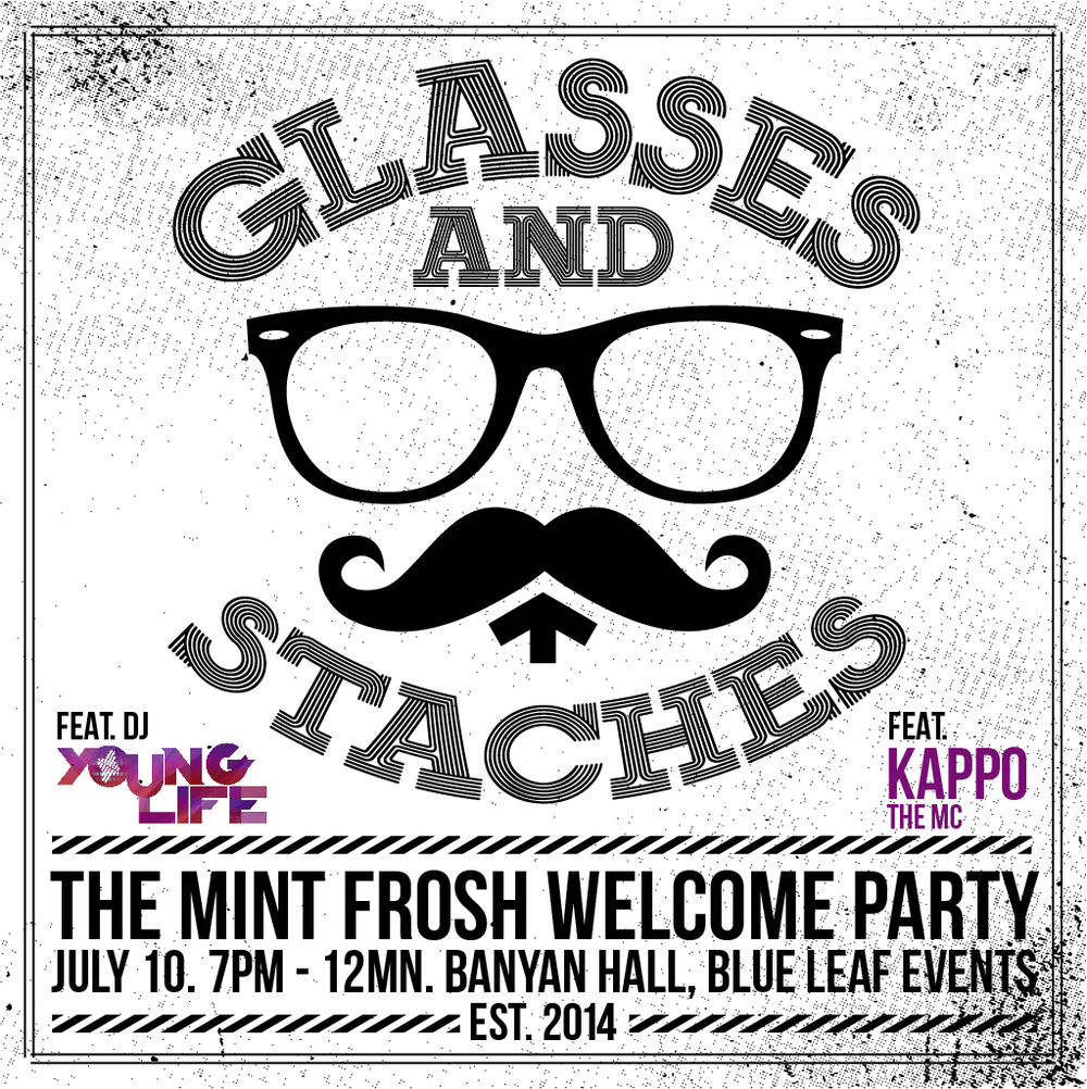 Mint college glasses staches the mint frosh acquaintance party glasses staches the mint frosh acquaintance party stopboris Images