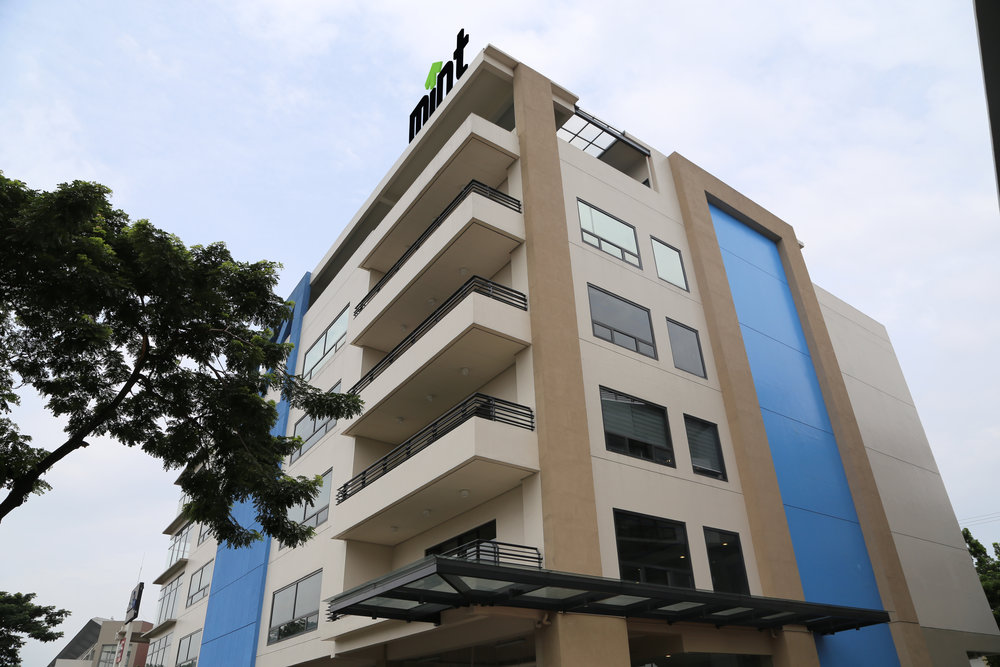 This is the new building for the new campus, Silver City 1A in Ortigas Ave., Pasig City.