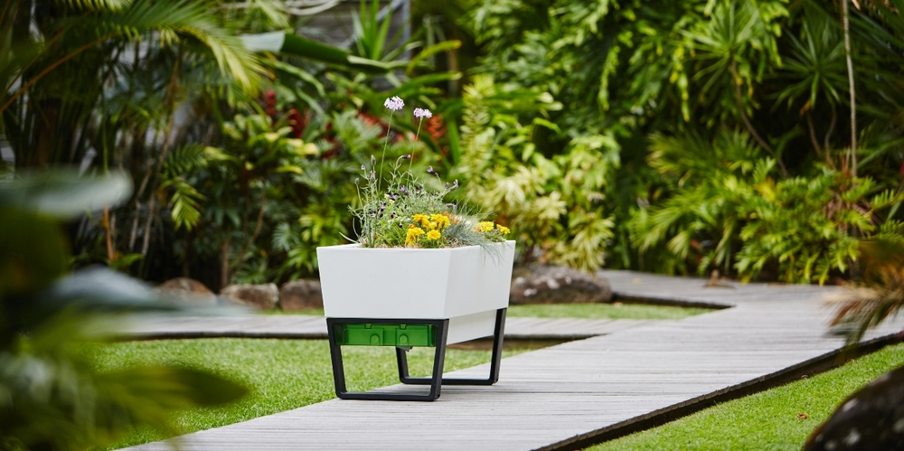 Modern Planters urban garden planter box - modern planters for use indoors or outside