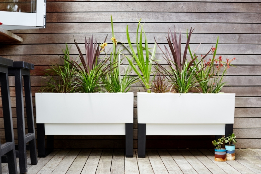 Urban Garden Planter Box Modern Planters For Use Indoors