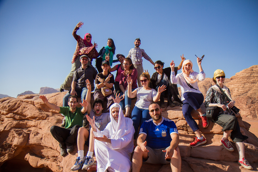 Our trip to Wadi Rum, back in May