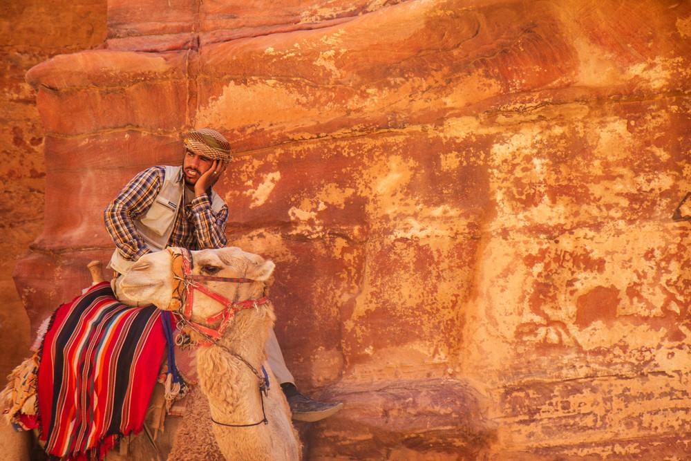 In Petra.