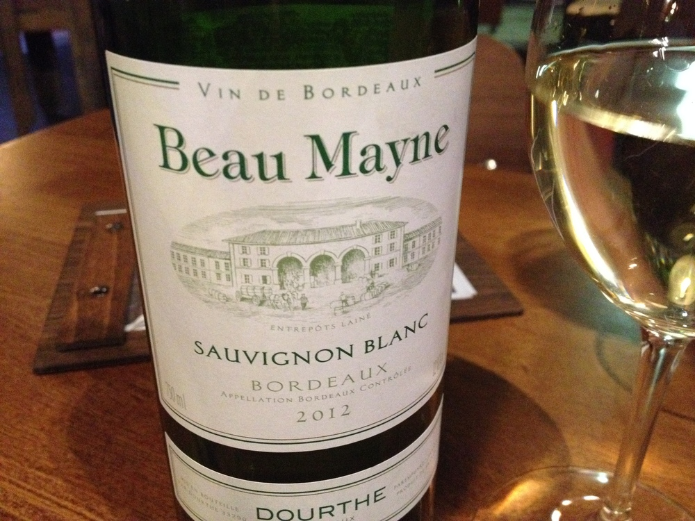 We quite happily departed from our traditional Australian/NZ Sauvignon Blanc to enjoy an import from Bordeaux on the recommendation from the waiter