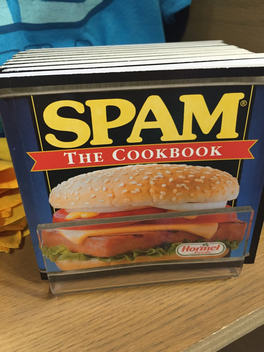 For some reason the Hawaiians hve a real soft spot for SPAM