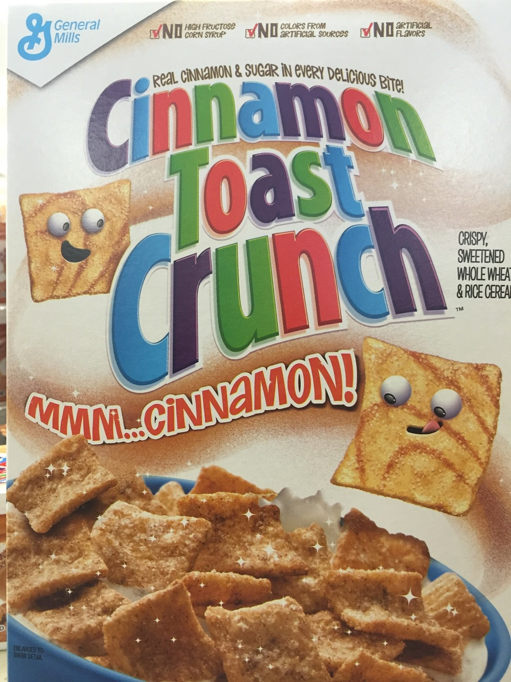 "Mr C loves Cinamon Sugar Toast and was delighted to find this cereal, he ate a single portion and the verdict was ""not bad"".  I did notice he chose not to eat it again, I think he was being nice."
