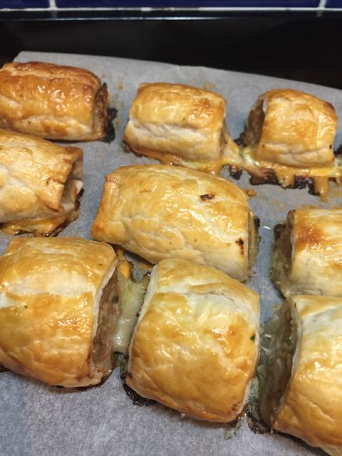 Autumn baking in the form of Pork and Fennel sausage rolls.  These were a hit and great for work lunches.  The inclusion of fresh fennel certainly made a difference.