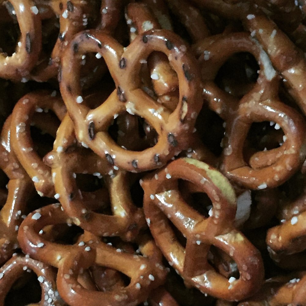 Speaking of drinks, why is it that pretzels go so well with a cold beer.
