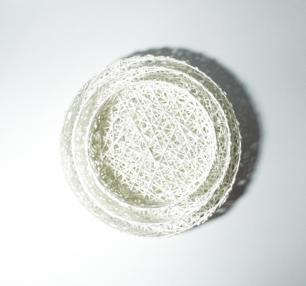 Obstschalen fruitbowls d 18, d 22, d 26 cm