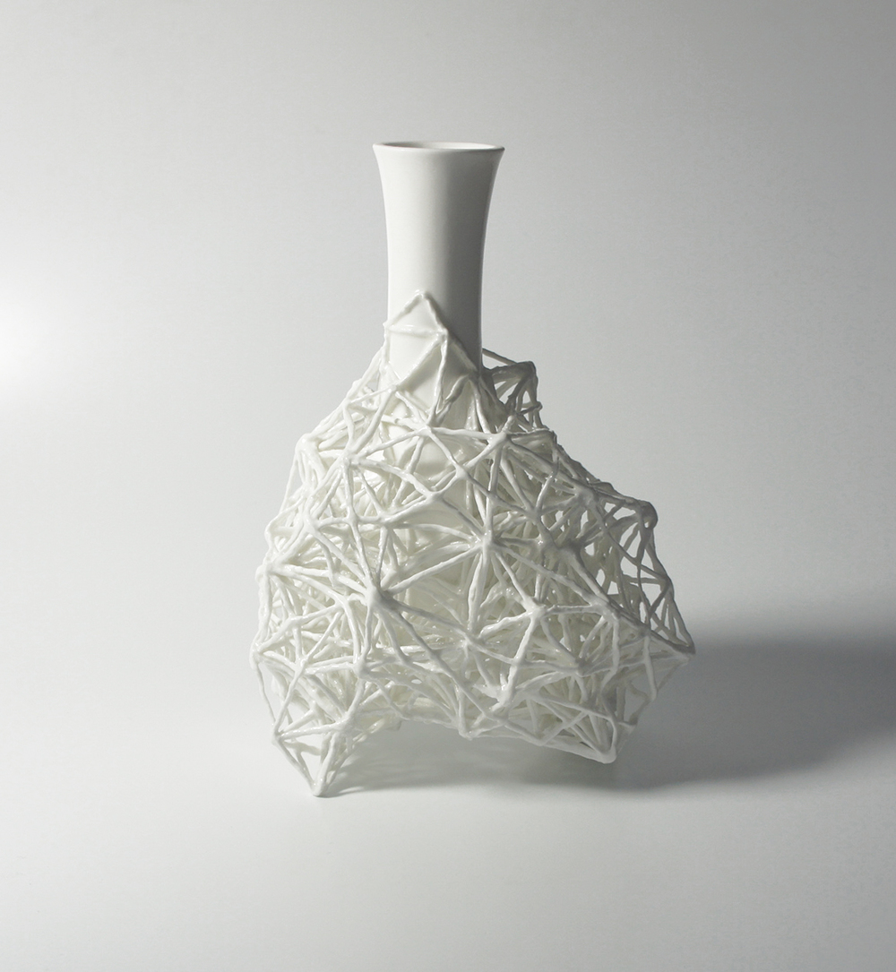 Gerüstvase framework vase h 24 cm