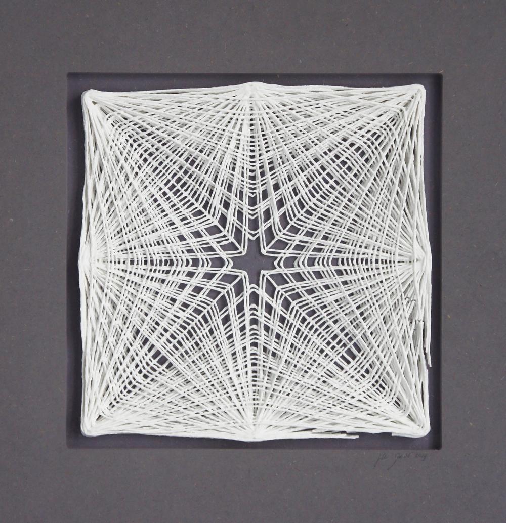 Zentrales Netzwerk central network h 40 cm