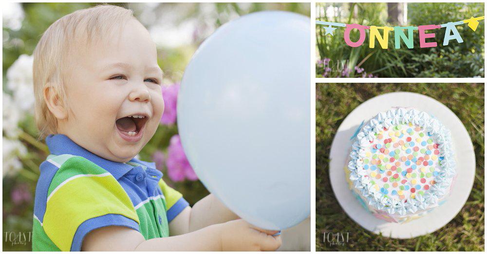 Yksivuotiskuvaus-ilmapallojen-kanssa