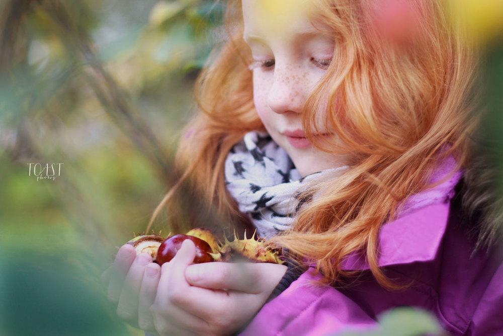 Lapsikuvaus syksyllä