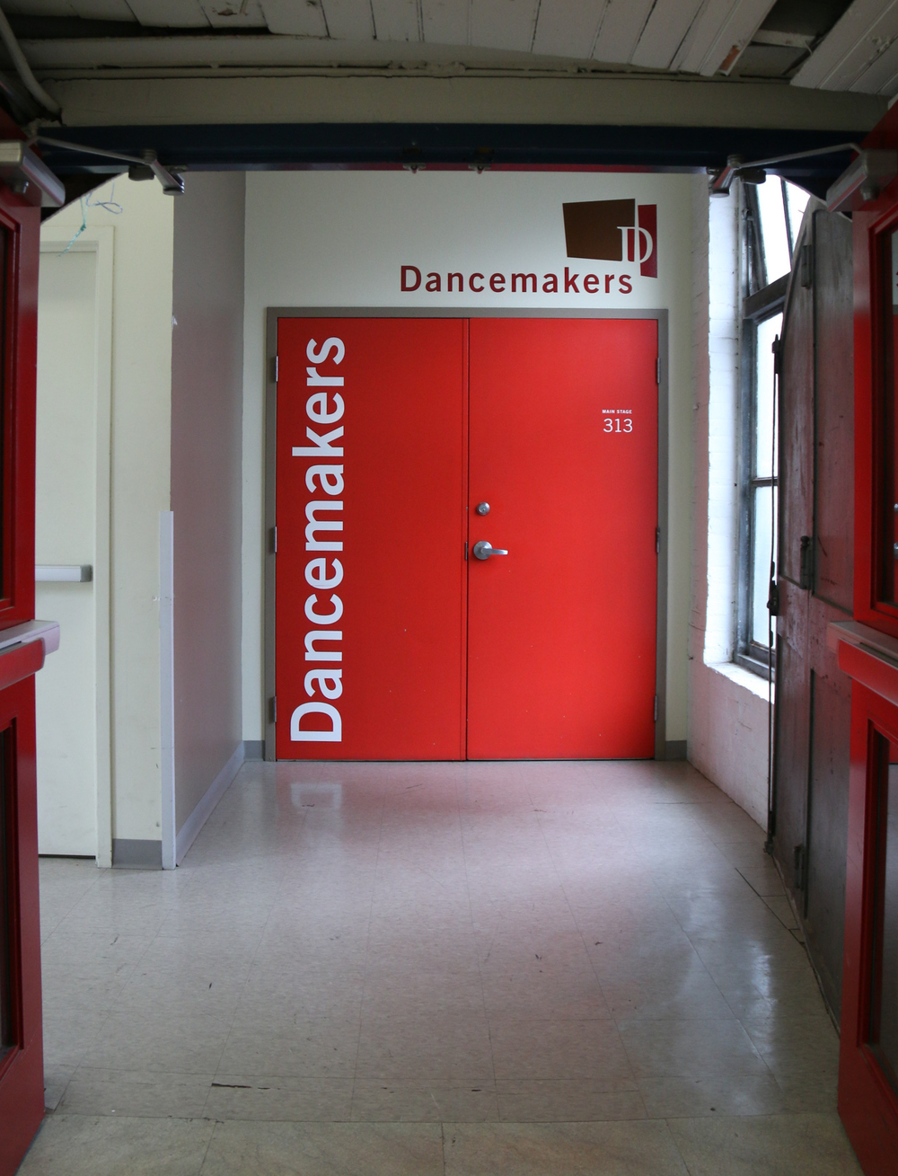 Entrance to Studio 313
