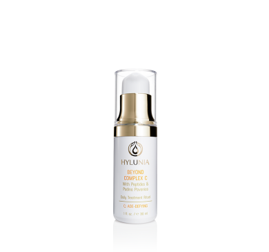 "Beyond Complex C As many of you know, I call this product ""liquid gold"" and for very good reasons! This product alone is where my LOVE for Hylunia began almost 14 years ago...it truly is what helps keep my Rosacea under control! Not to mention the visible reduction of fine lines & wrinkles. This is a must have to keep skin youthful!"