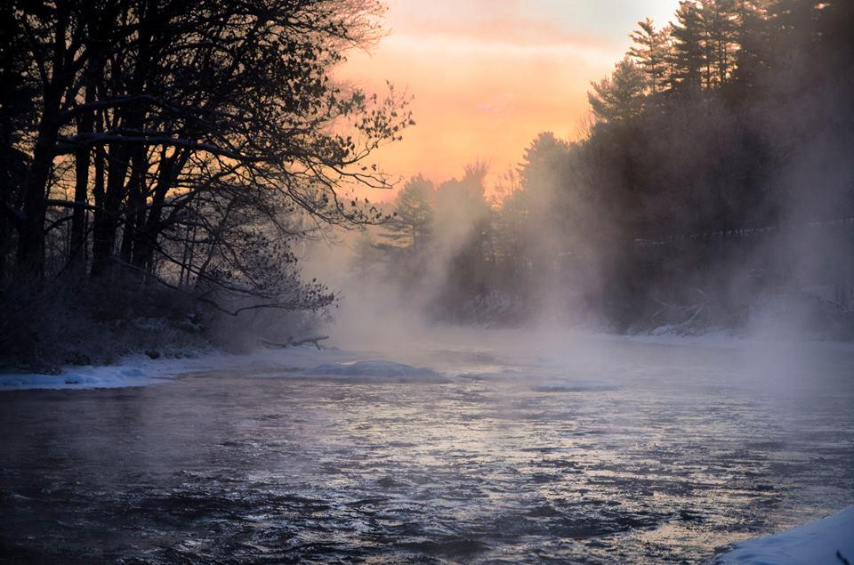 North Creek Morning By David Avigdor