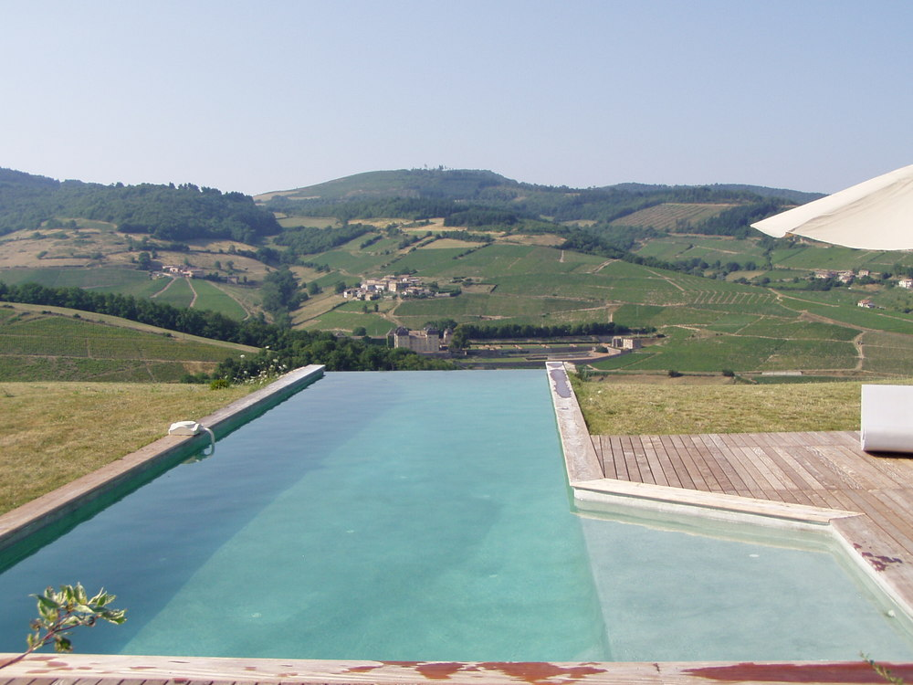 The pool at Vâtre