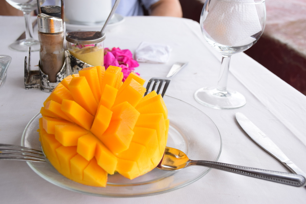 Best way to serve mango.
