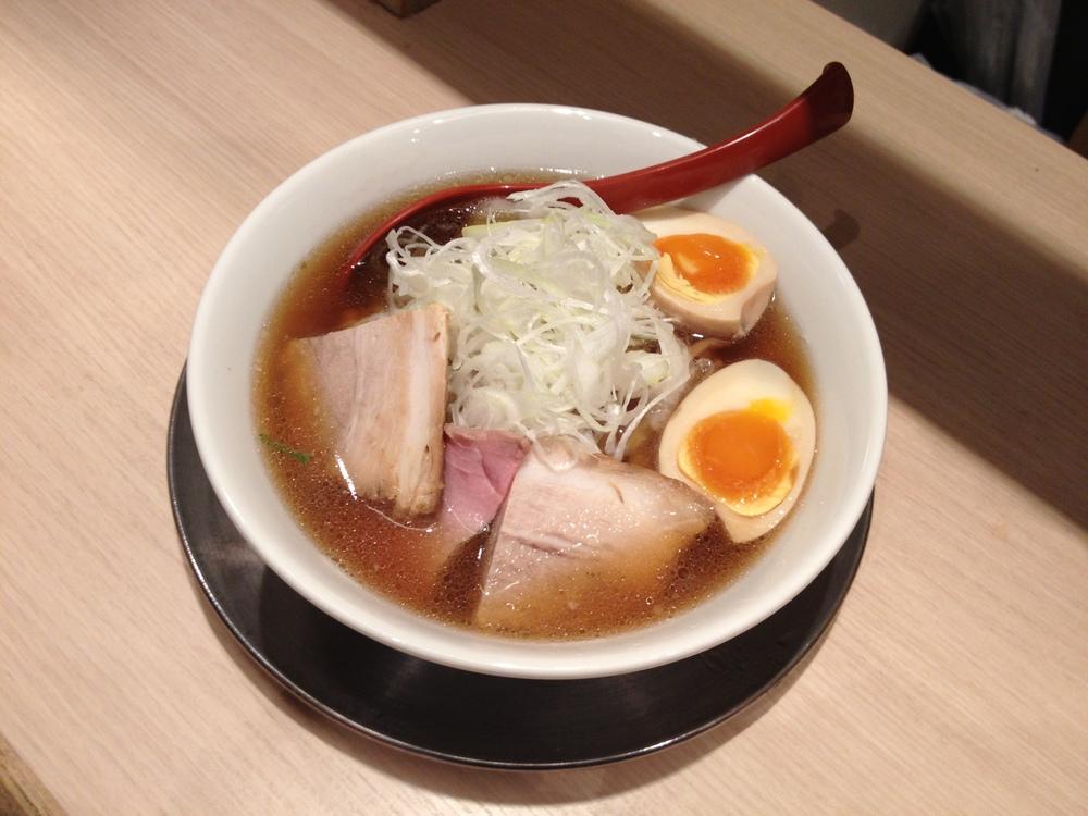 shichisai's shoyu ramen. too good to be true.