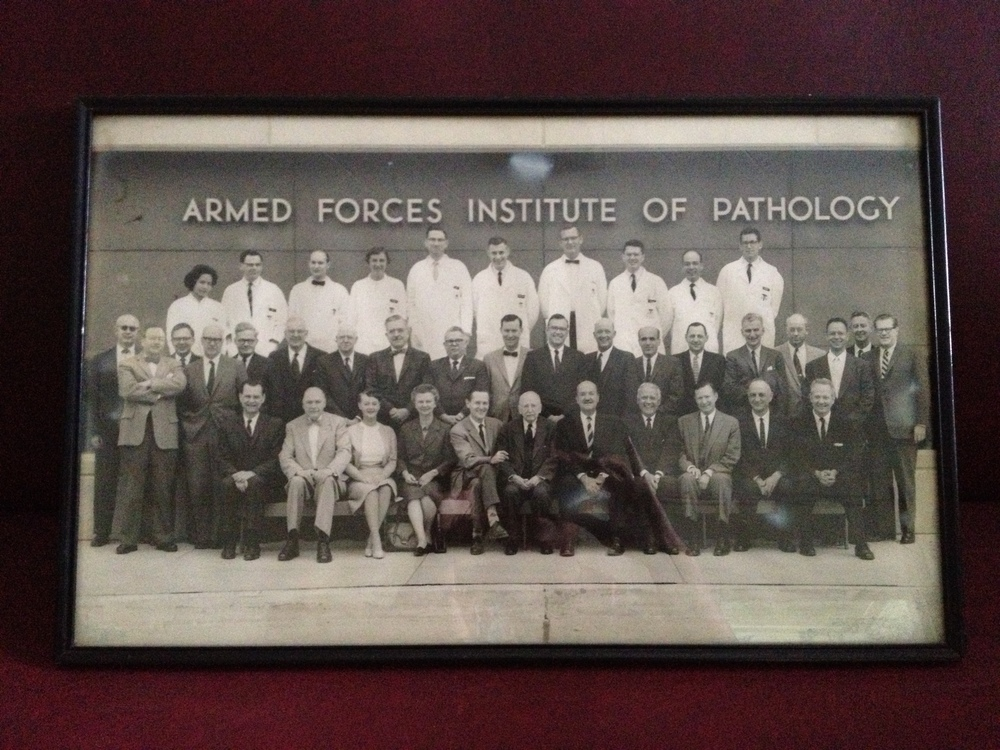 my lola glory (back row, left) was the only filipina and one of a few women to be recognized as a fellow of the armed forces institute of pathology.
