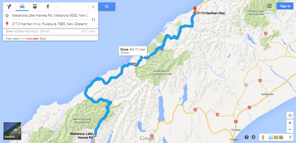 Wanaka Lake Site to Glaciers to Harihari Hwy Site (2).PNG