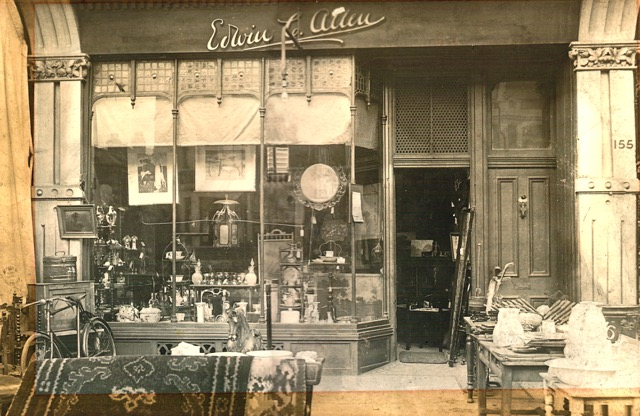 Our original antique shop in Lee High road