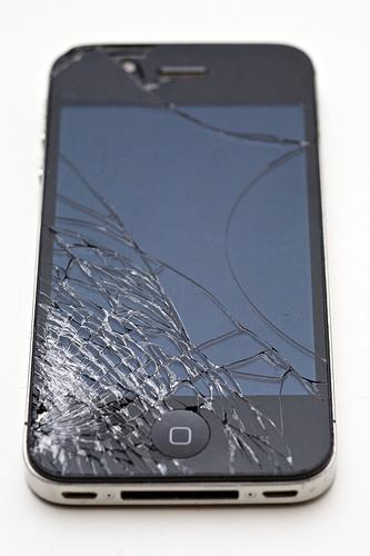 iphone needing screen repair