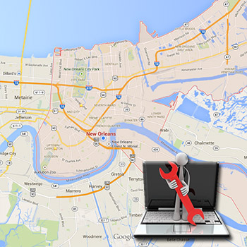 Laptop Repair New Orleans Harvey West Bank