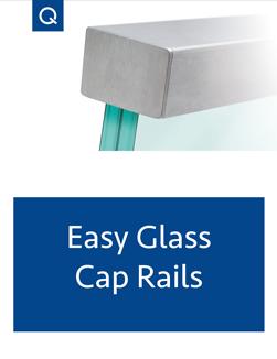 Easy Glass Cap Rails