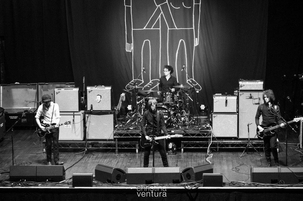 Catfish & The Bottlemen during soundcheck at Webster Hall. 16 June 2015