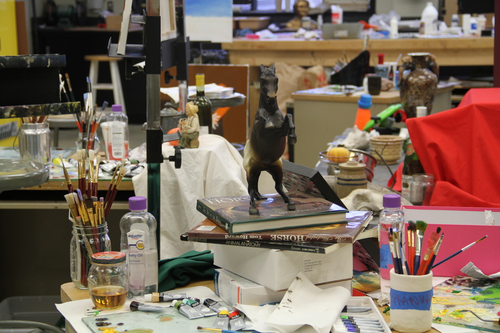 Cowley College Painting Studio