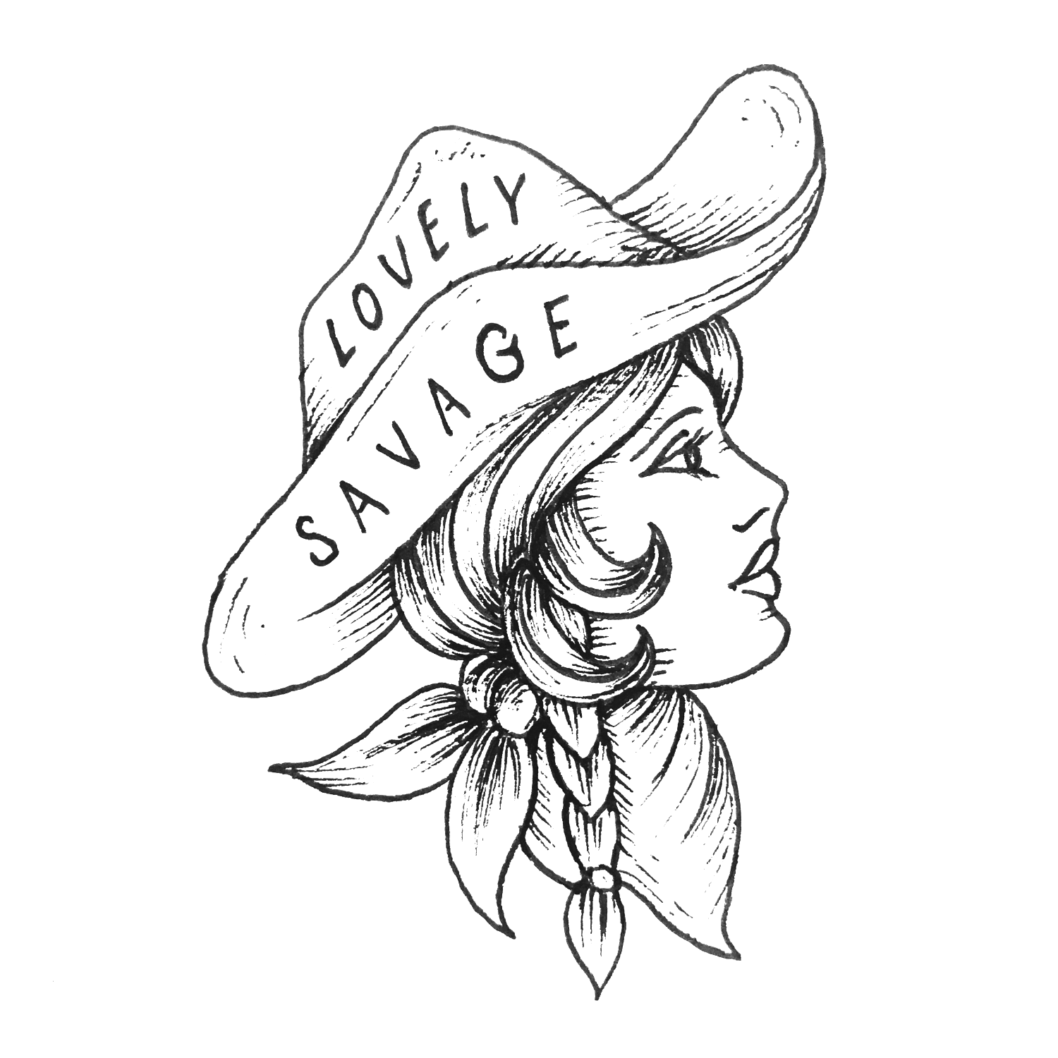 Lovely Savage :: Illustration & branding