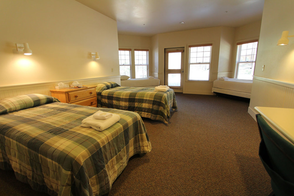 Hotel-style Rooms in Faith & Hope Lodges