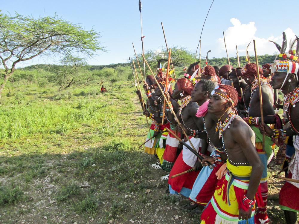 Samburu Warriors (photo by Francis Lenyakopiro)