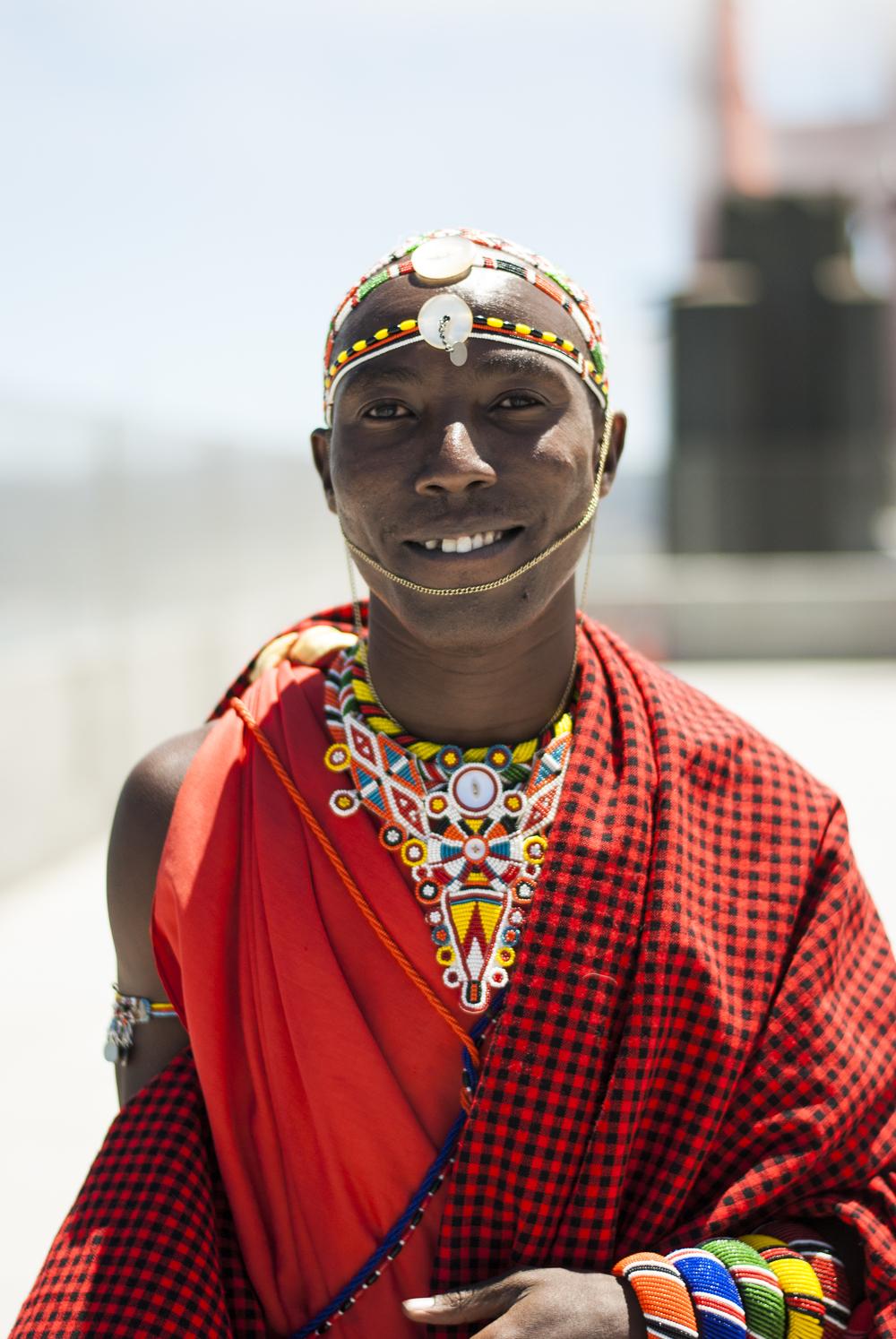 Francis Lenyakopiro, founder of Samburu-SOS