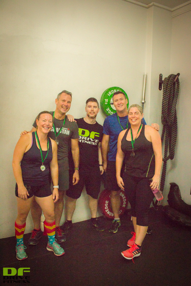 2nd Place - Lisa, Peter, (Josh - Personal Trainer), Craig, Susan