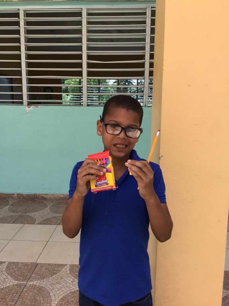 Meet Yariel Luciano Melo! This amazing boy won the Bible competition at his school! He worked really hard this month to learn everything that was taught! Great job Yariel!    Yariel needs your help! If you can Sponsor him for just $35 a month it could change his life!