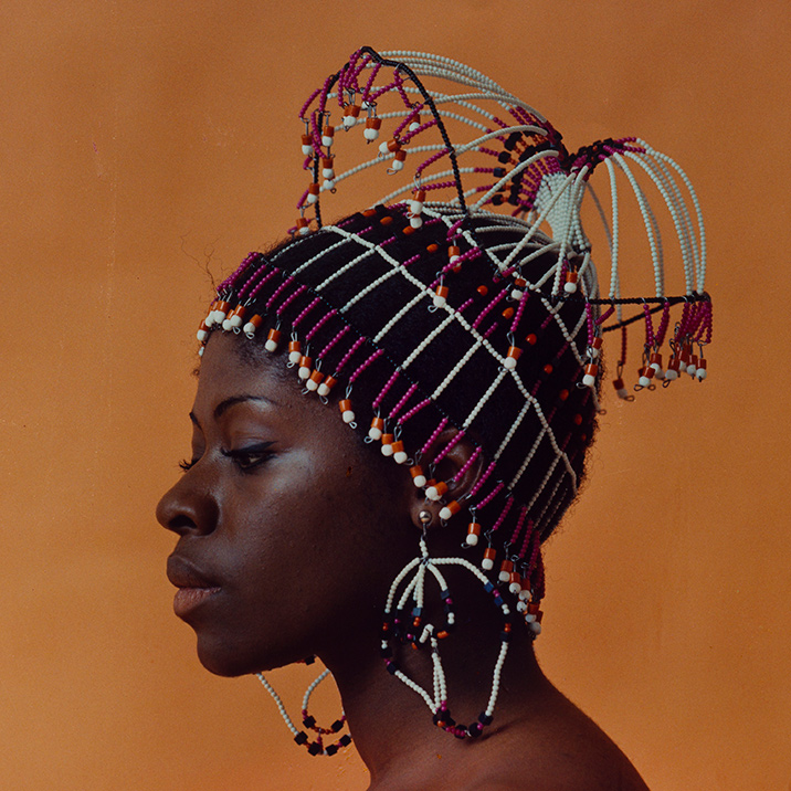 "Untitled (Sikolo with Carolee Prince Designs)"" circa early 1970s. © Kwame Brathwaite/Courtesy of Cherry and Martin, Los Angeles/Photo: Ruben Diaz"