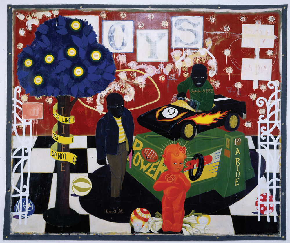 The Lost Boys, Kerry James Marshall