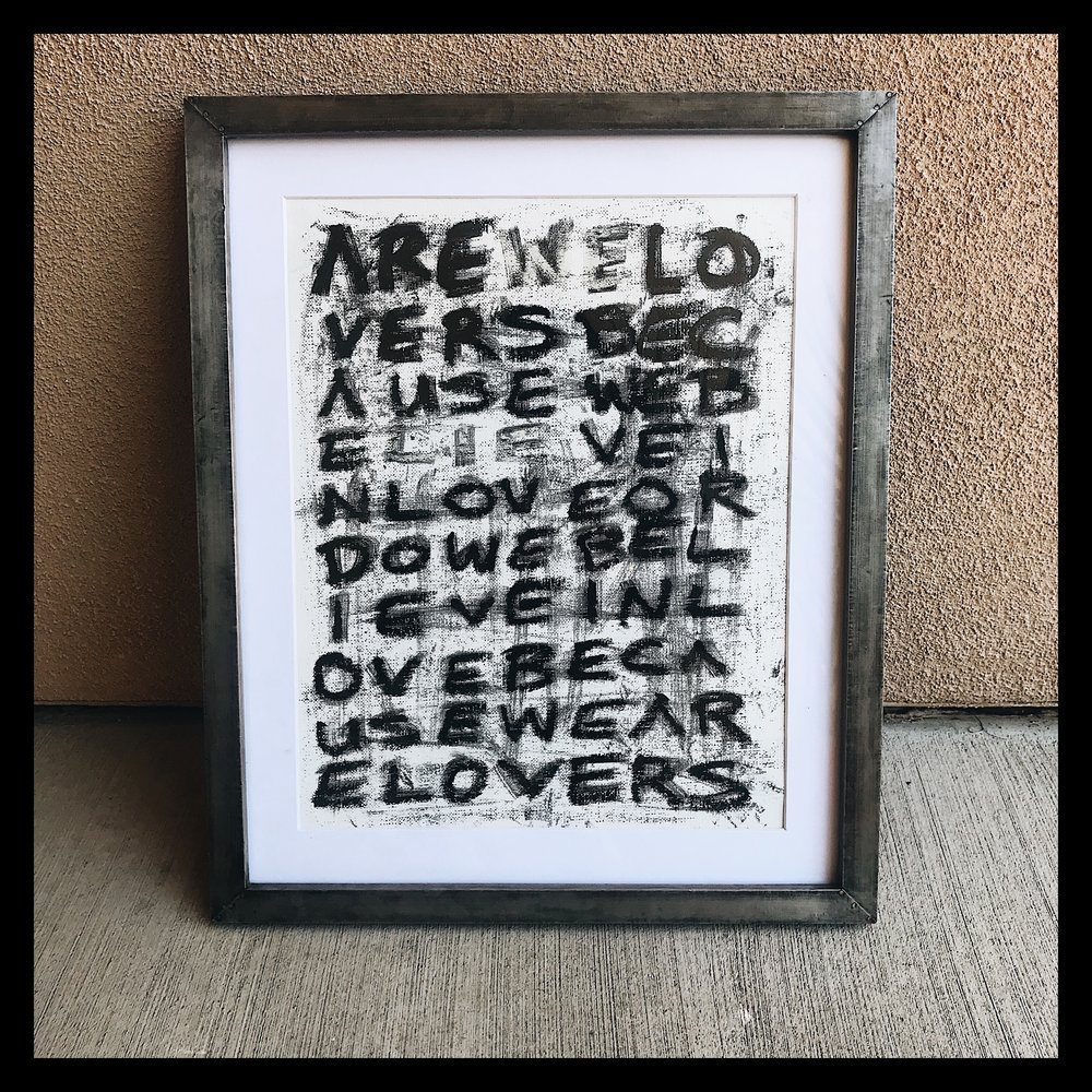 Untitled (Are We Lovers...)