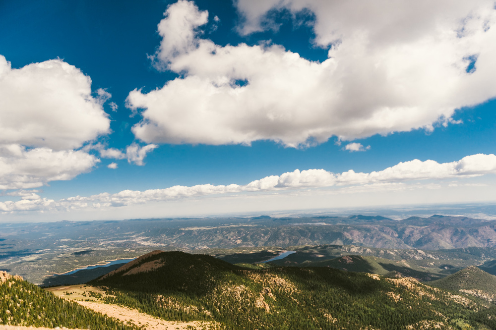 From a breathtaking drive up Pikes Peak