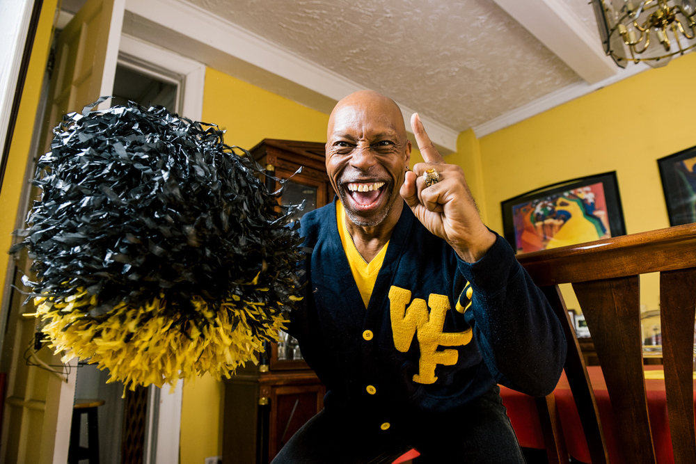 Many call Jeff the original WFU mascot, and it's clear he hasn't lost a step.