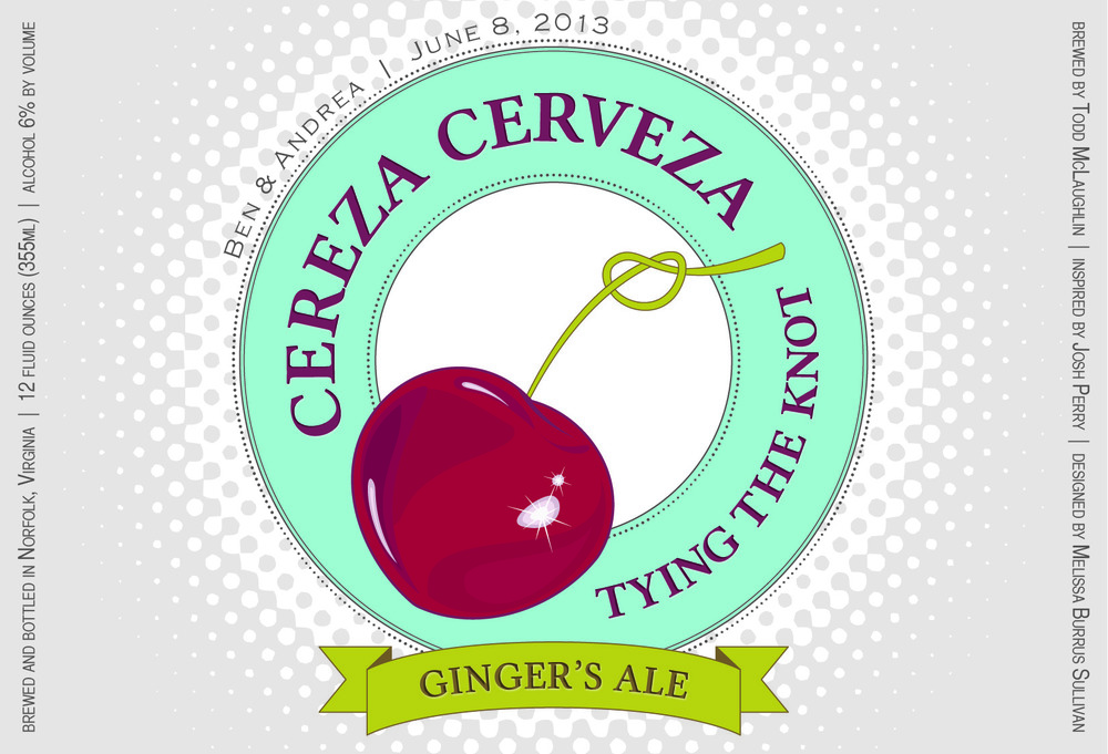 """Ginger's Ale"" - a malty, honey infused red ale"