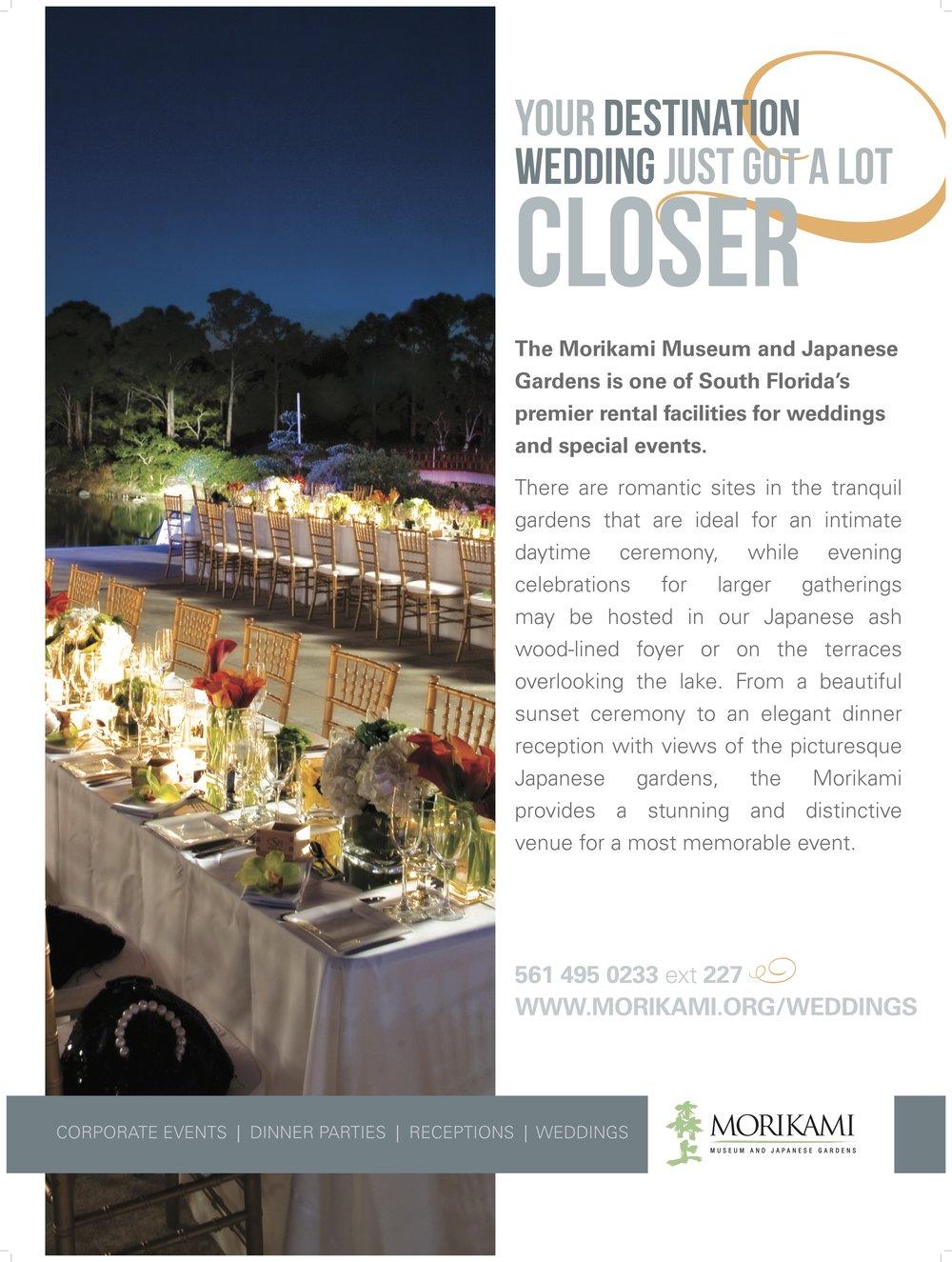 Morikami Gardens - Print Ad