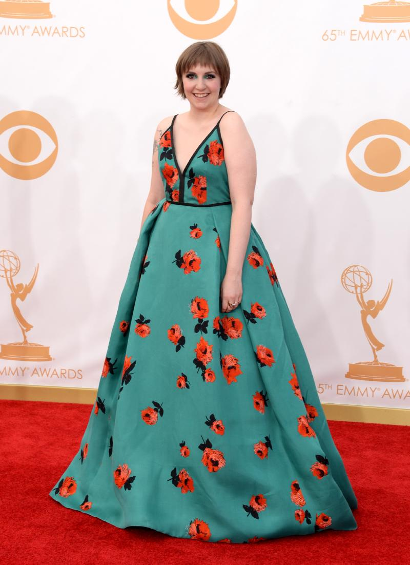 Lena Dunham, photo credit Jason Merritt/2013 Getty Images