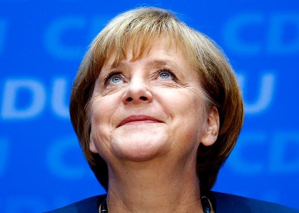 German Chancellor Angela Merkel, image credit Kai Pfaffenbach/ Reuters