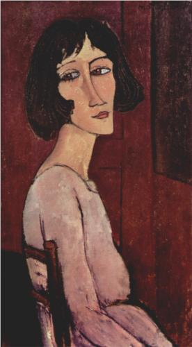 Portrait of Margarita, Modigliani, 1916