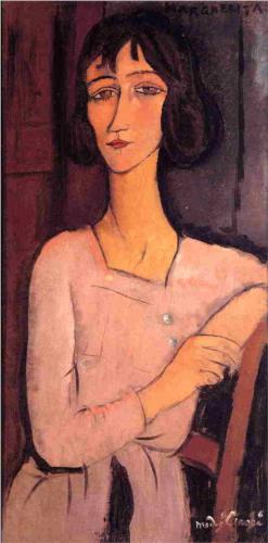 Margarita Seated, Modigliani, 1916