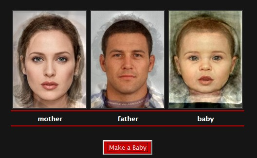 "Try the popular ""Make a Baby"" feature"